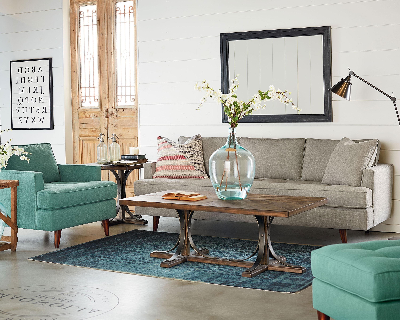 2018 Magnolia Home Iron Trestle Cocktail Tables Intended For Mcm + Iron Trestle – Magnolia Home (View 10 of 20)