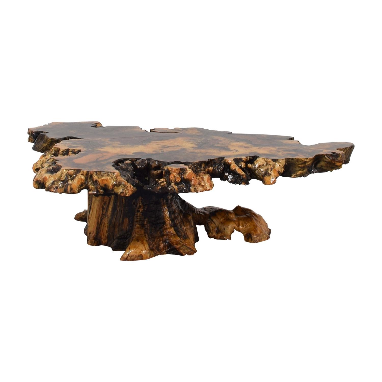 2018 Oslo Burl Wood Veneer Coffee Tables With Burl Wood Coffee Tables – Coffee Table Ideas (View 2 of 20)