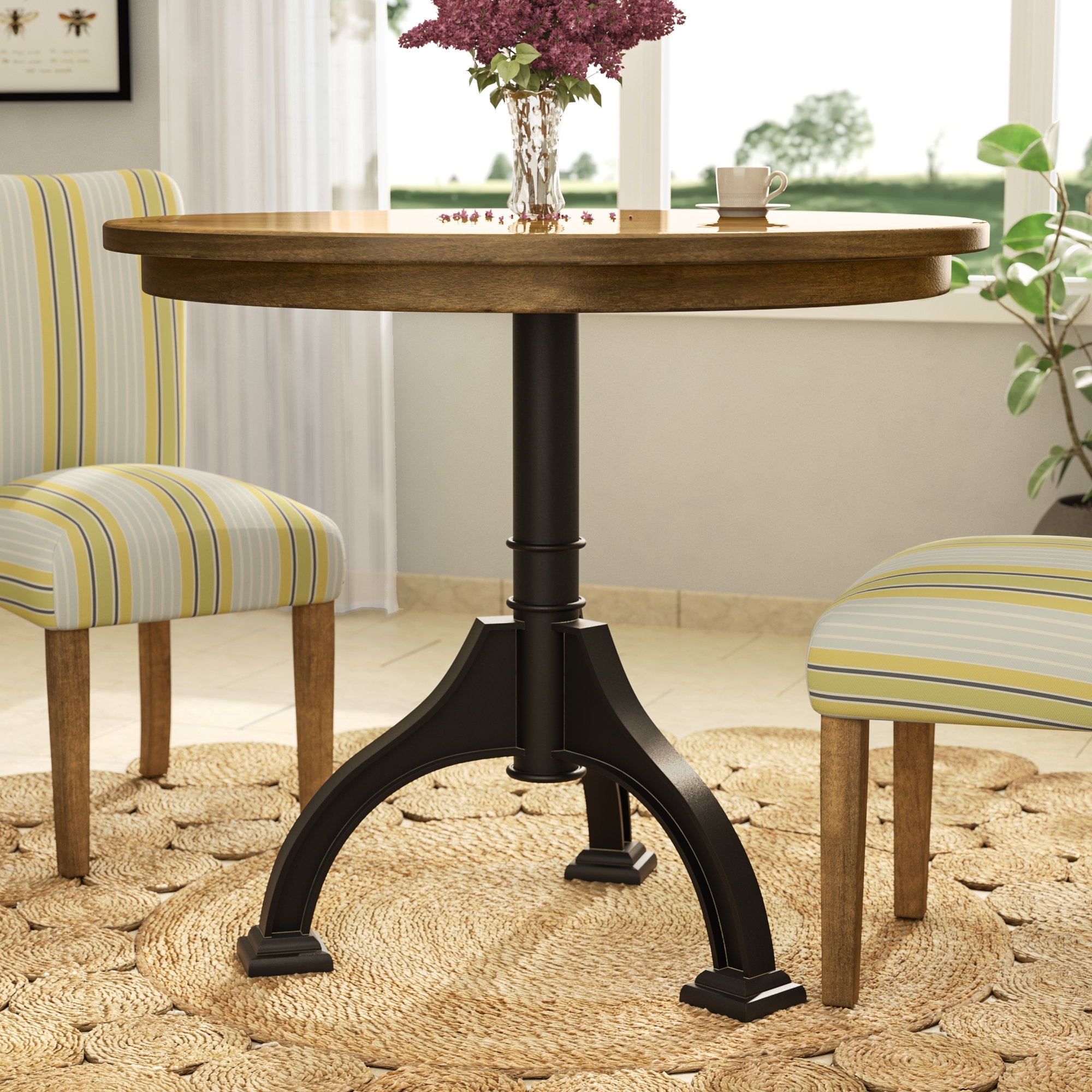 2018 Potomac Adjustable Coffee Tables For Trent Austin Design Brownwood Dining Table & Reviews (View 6 of 20)