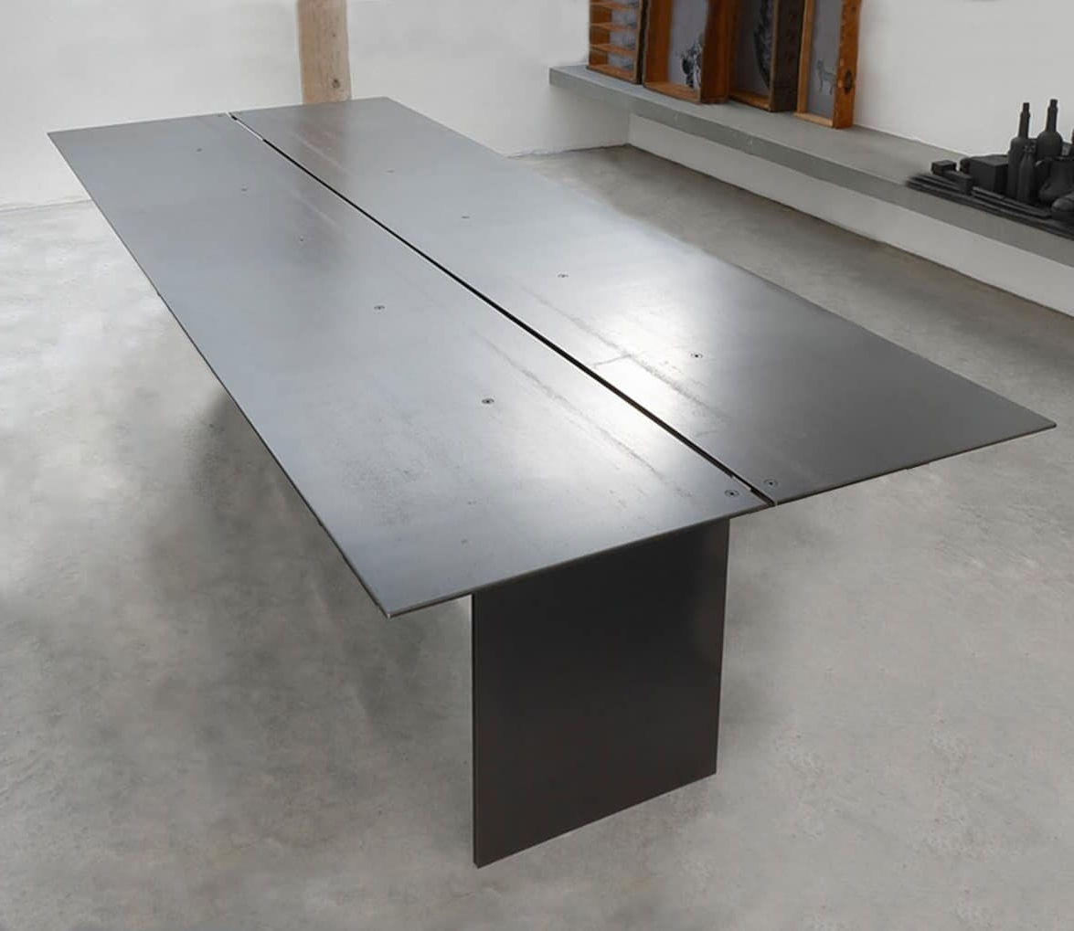 2018 Waxed Metal Coffee Tables Throughout Elegant Table, In Metal Coated Wax (View 2 of 20)