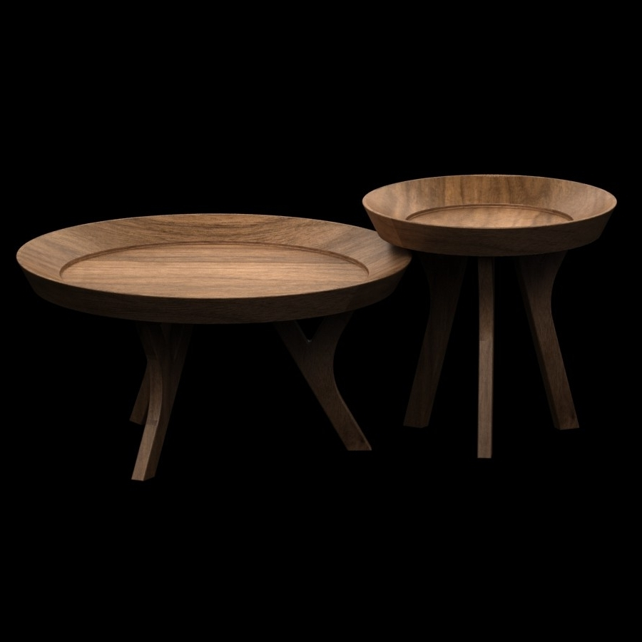3D Pottery Barn – Moraga Table 3D Model – High Quality 3D Models With Regard To Favorite Moraga Barrel Coffee Tables (Gallery 3 of 20)