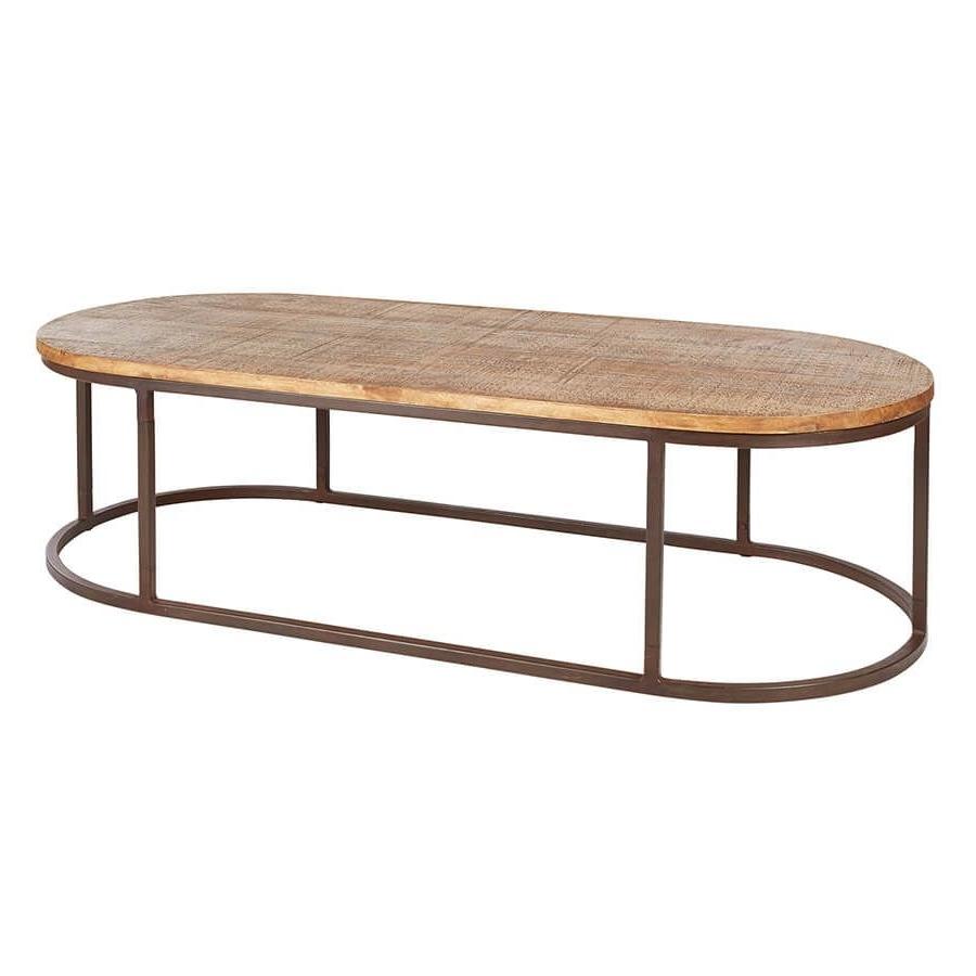 "70"" X 30""  0052 Bi 2430 Avignon Oval Coffee Table C (View 3 of 20)"