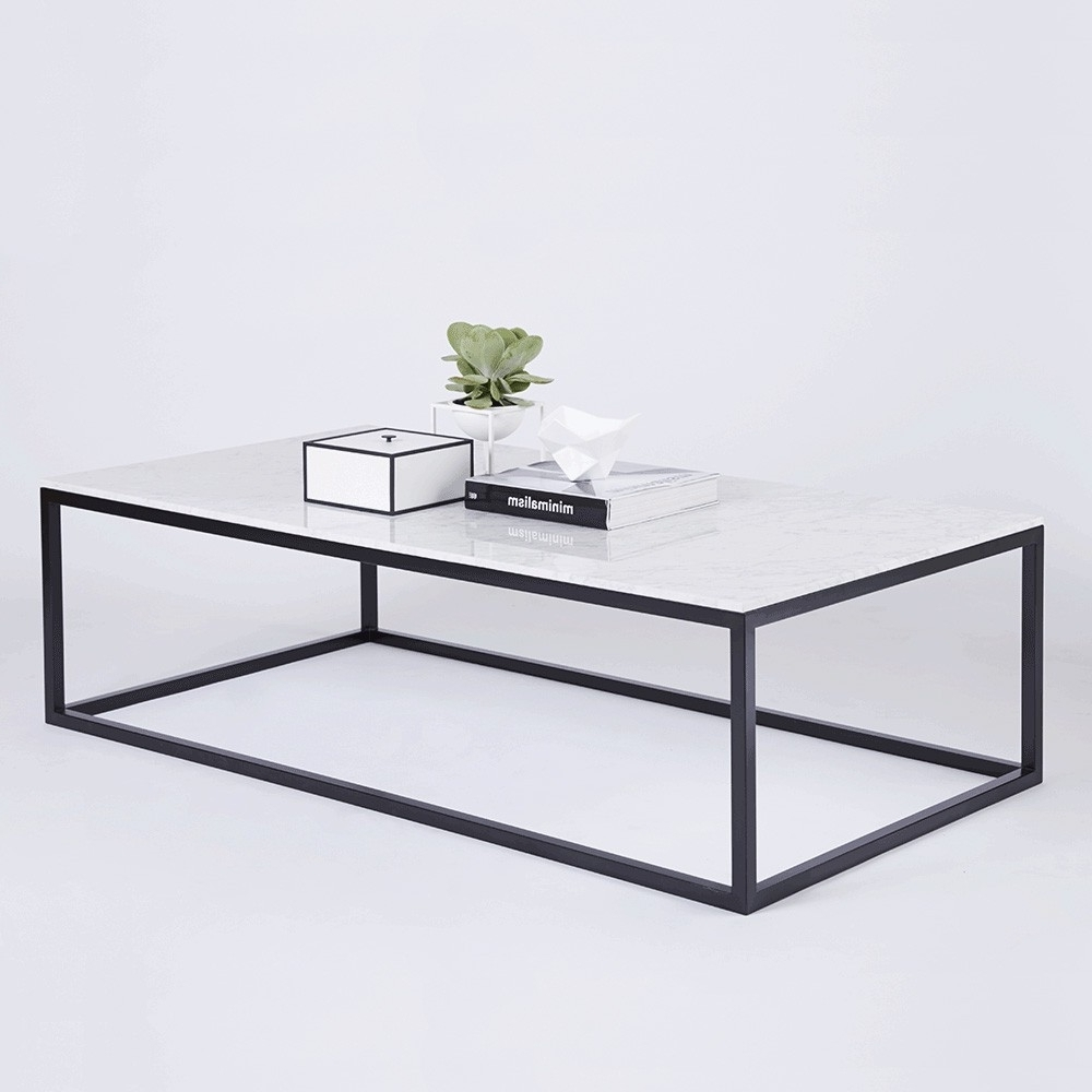 9 Modern White Marble Coffee Table Gallery (View 1 of 20)