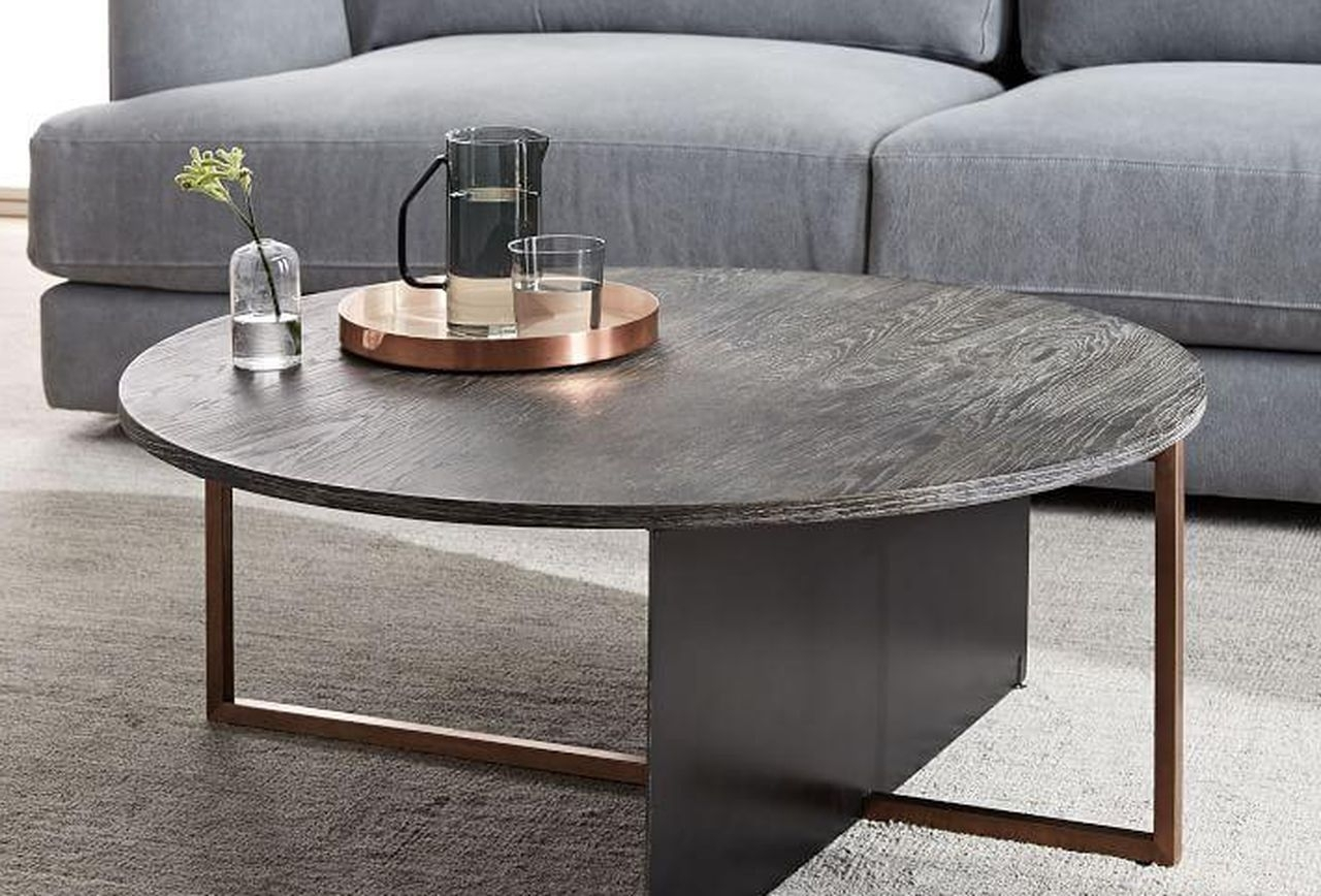 9 Stylish Coffee Tables We Love That Are On Sale Now With Regard To Well Known 2 Tone Grey And White Marble Coffee Tables (View 2 of 20)