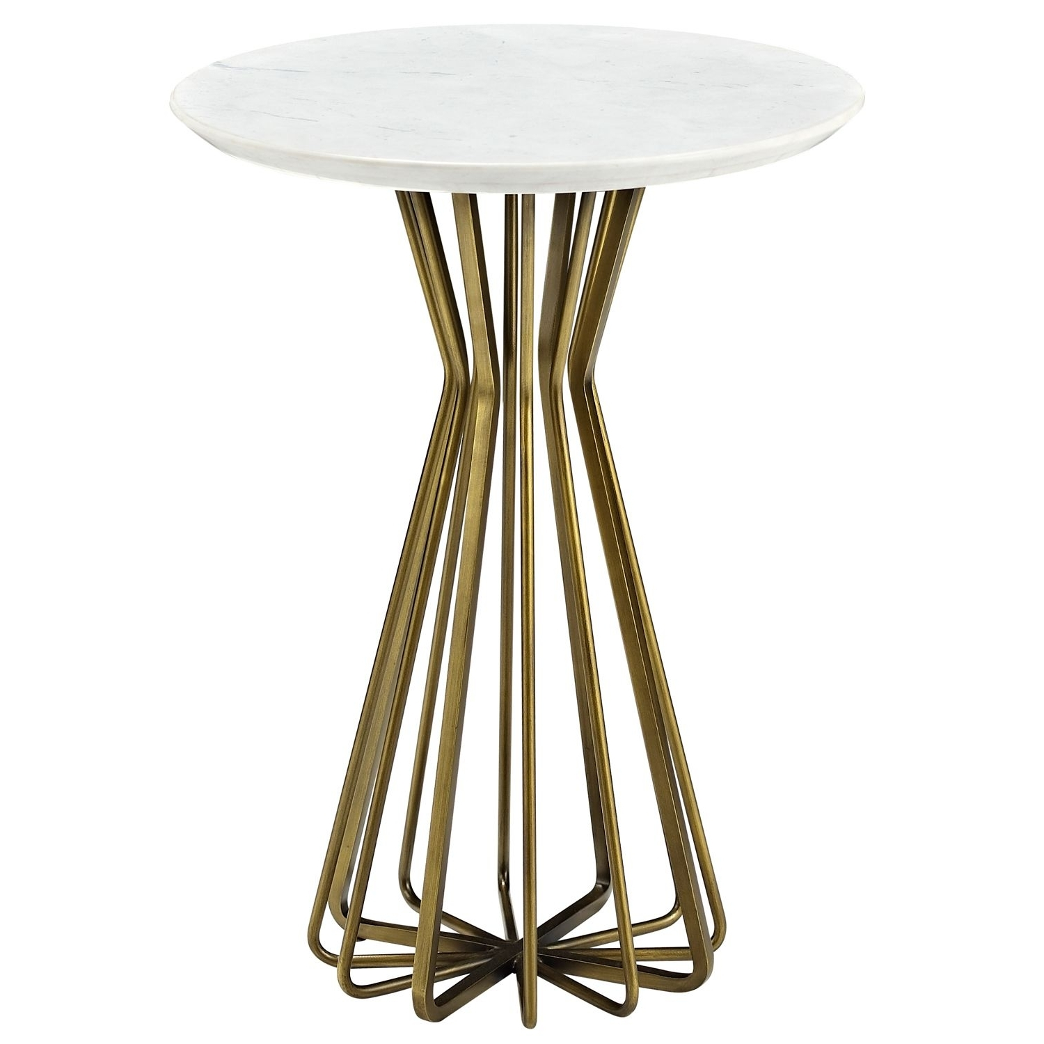 A Compelling Openwork Design Provides The Contemporary Style Of The With Latest Exton Cocktail Tables (View 1 of 20)