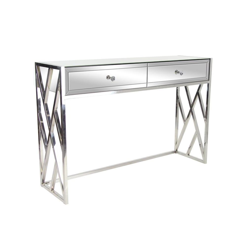 Accent Tables – Living Room Furniture – The Home Depot Regarding Well Liked White Wash 2 Drawer/1 Door Coffee Tables (View 14 of 20)