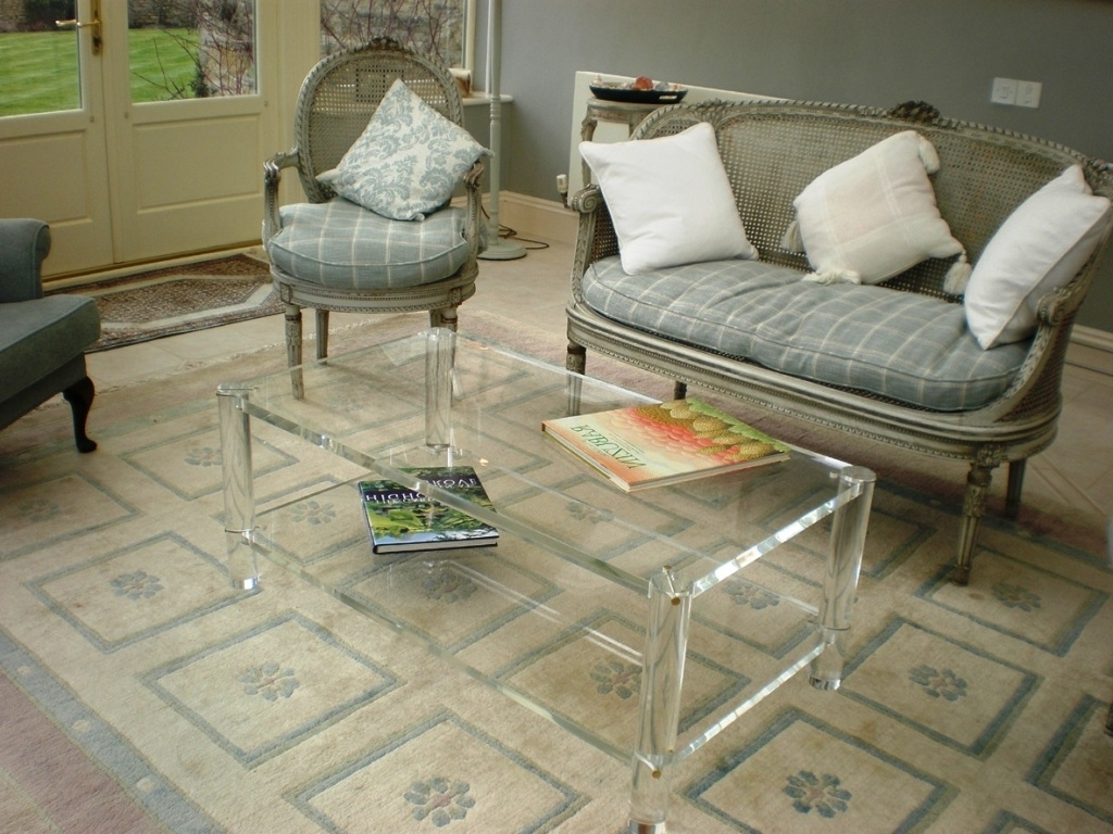 Acrylic Coffee Table With Shelf — Smart Architechtures : How To In Most Recently Released Stately Acrylic Coffee Tables (Gallery 8 of 20)
