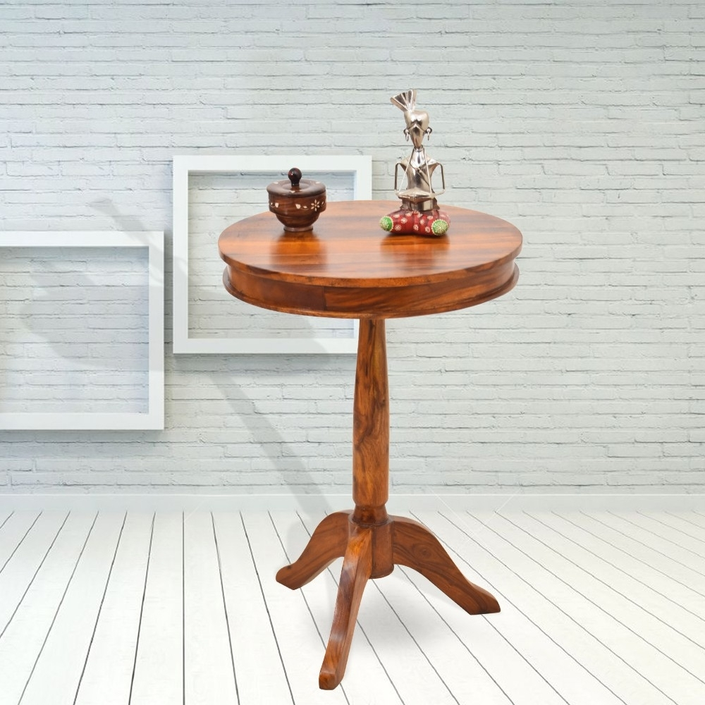 Adolph Tall Round Peg Table In Most Recent Naveen Coffee Tables (View 5 of 20)