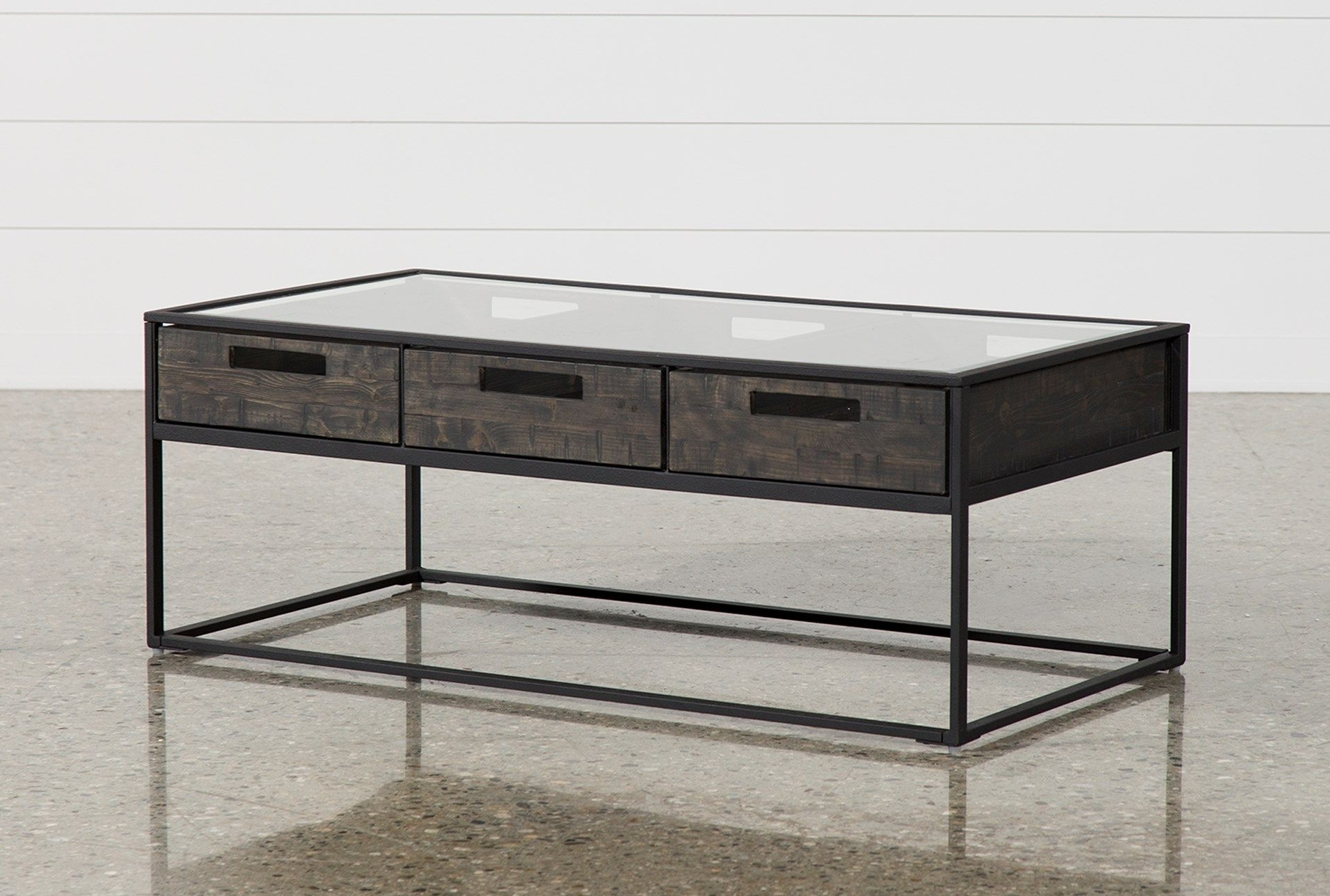 Anson Cocktail Table, Grey, Coffee Tables (View 1 of 20)