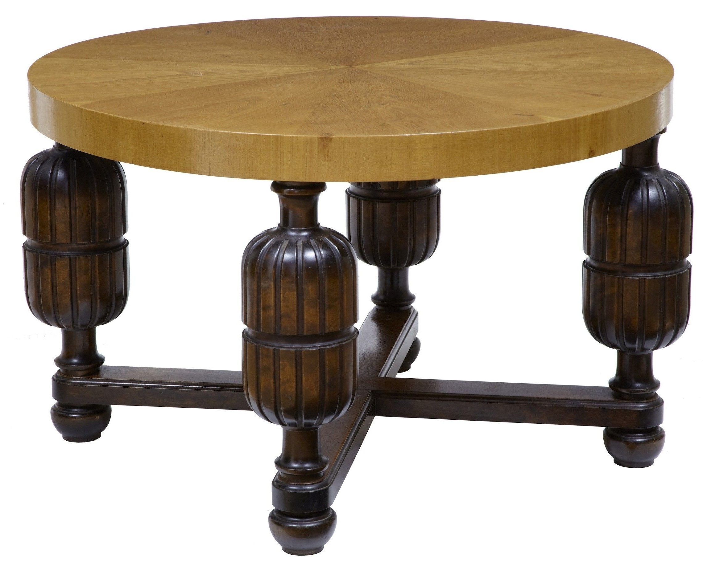 Art Deco Swedish Birch Coffee Table (c (View 7 of 20)