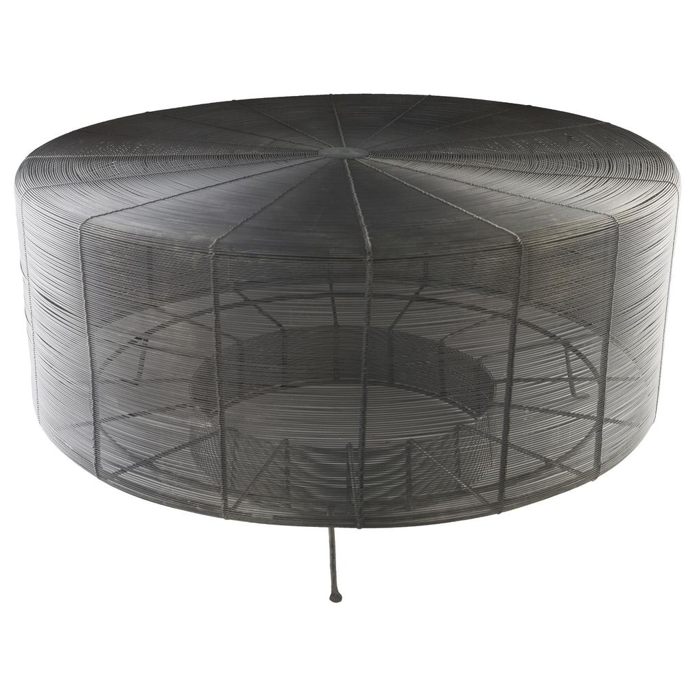 Artistic Weavers Aende 30 In. Black Centre Table S00161005931 – The Pertaining To Newest Weaver Dark Rectangle Cocktail Tables (Gallery 15 of 20)