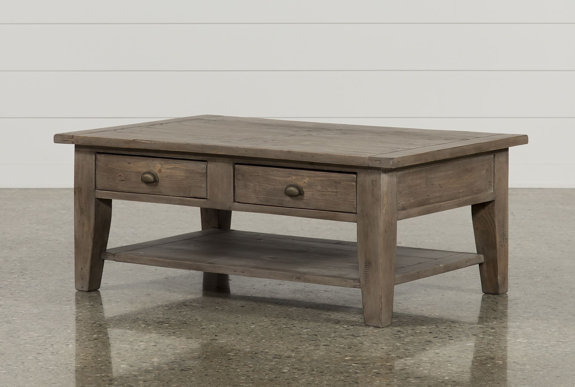 Ashburn Cocktail Table, Brown, Coffee Tables (View 9 of 20)