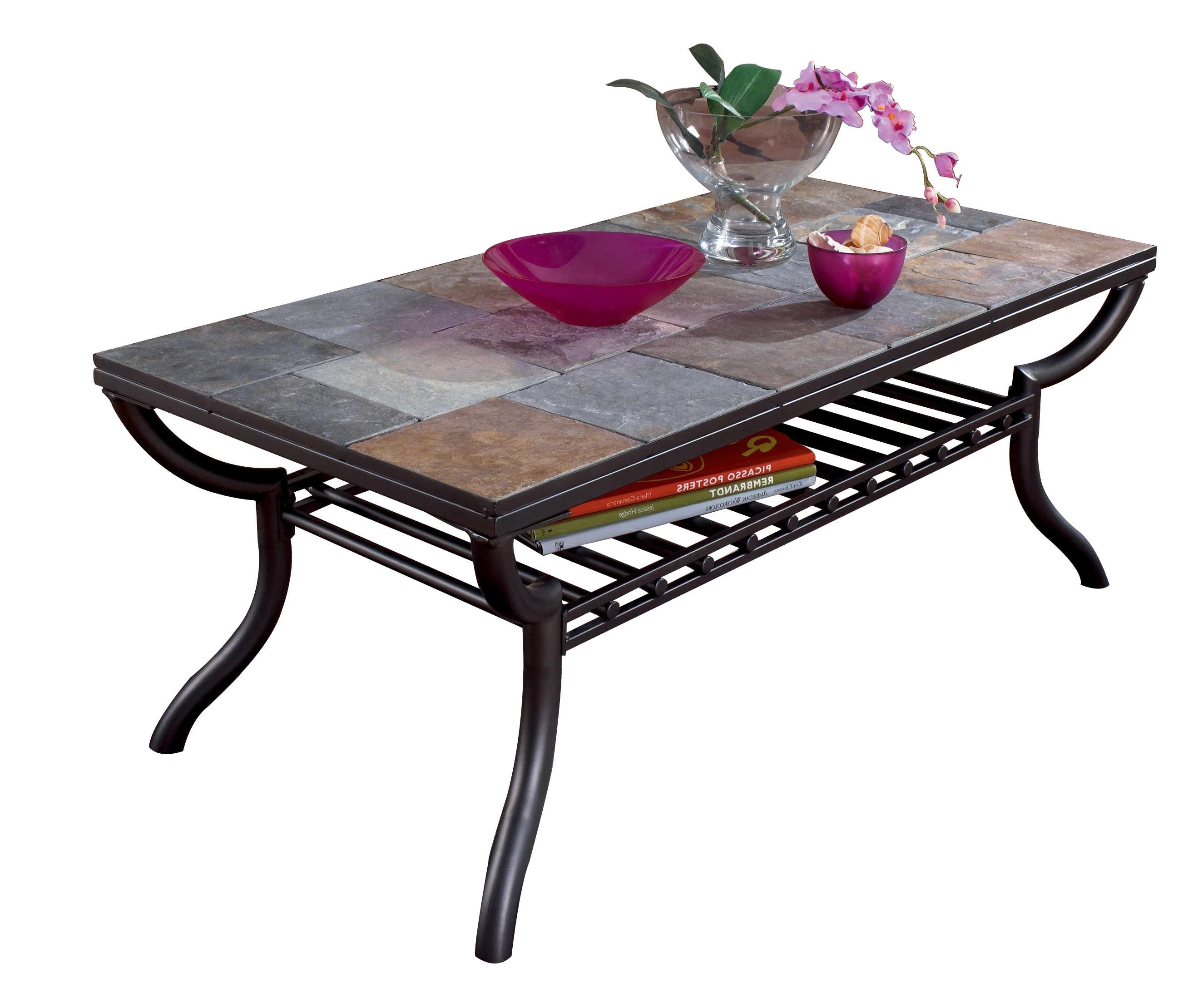 Ashley Furniture Antigo Rectangular Cocktail Table (View 15 of 20)