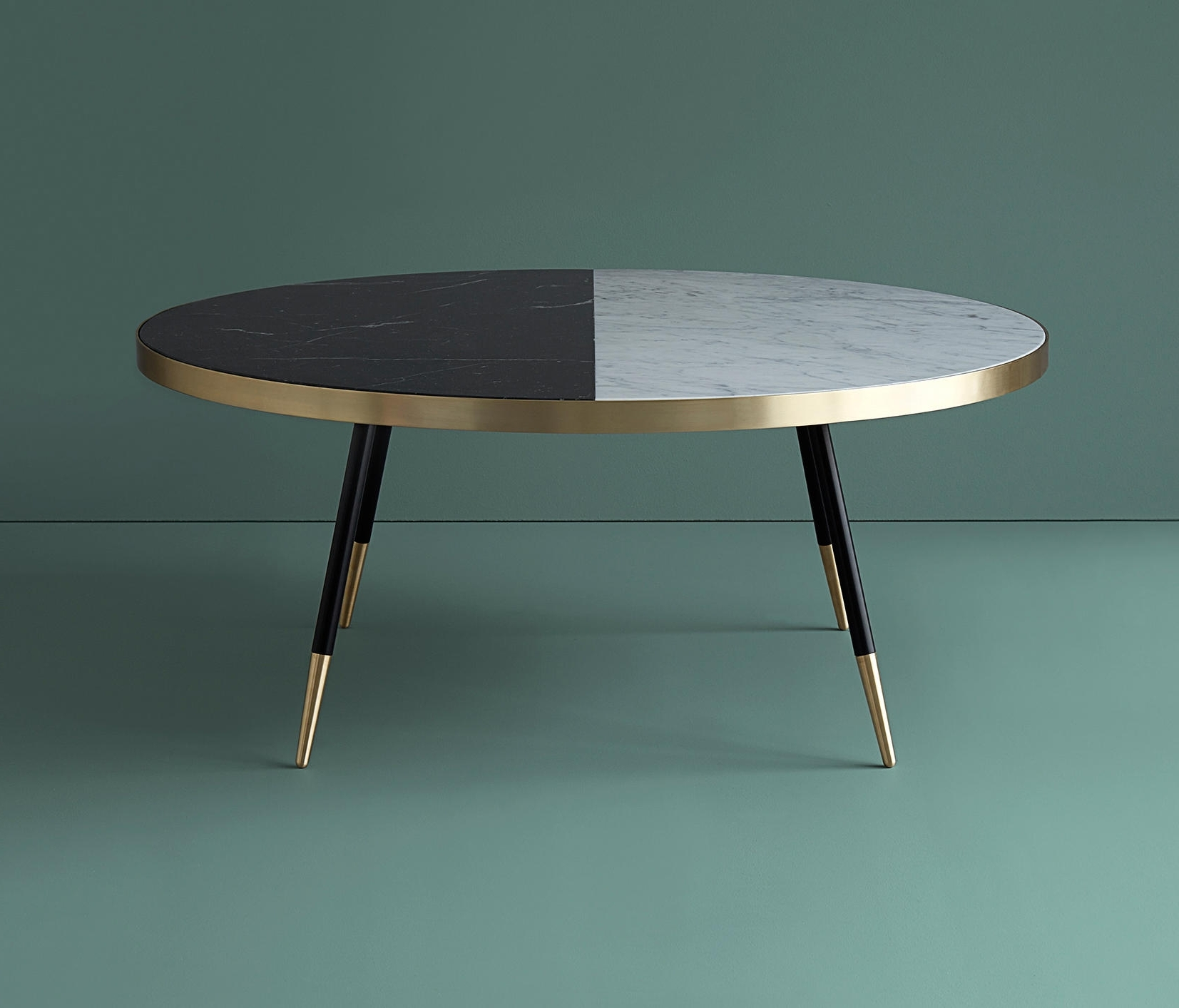 Band Marble Coffee Table – Coffee Tables From Bethan Gray (View 2 of 20)