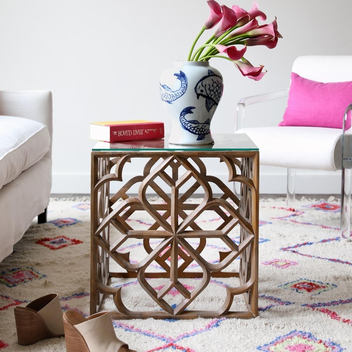 Batik Side Table (View 14 of 20)