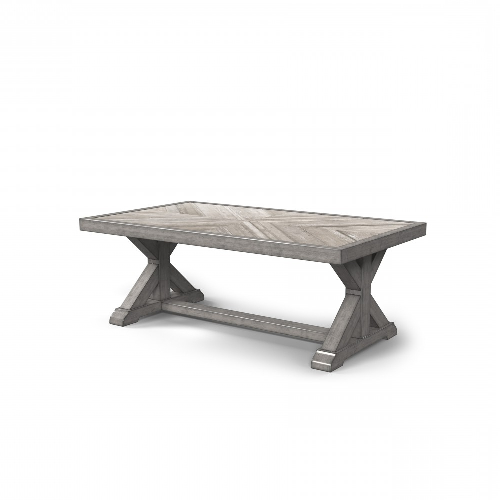Beachcroft – Beige – Rectangular Cocktail Table (View 18 of 20)