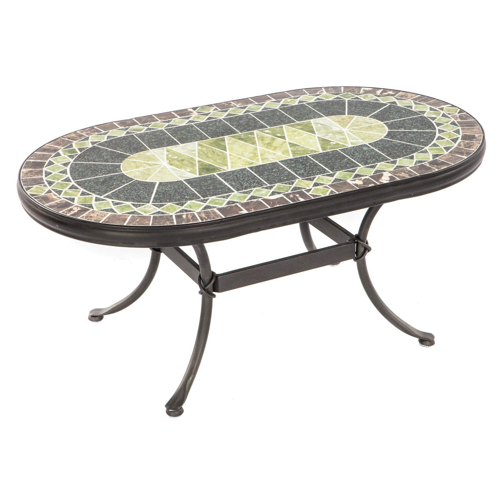 Beautiful Mosaic Accent Table With One Look At Pier 139S Elba Mosaic Pertaining To Famous Elba Ottoman Coffee Tables (View 1 of 20)