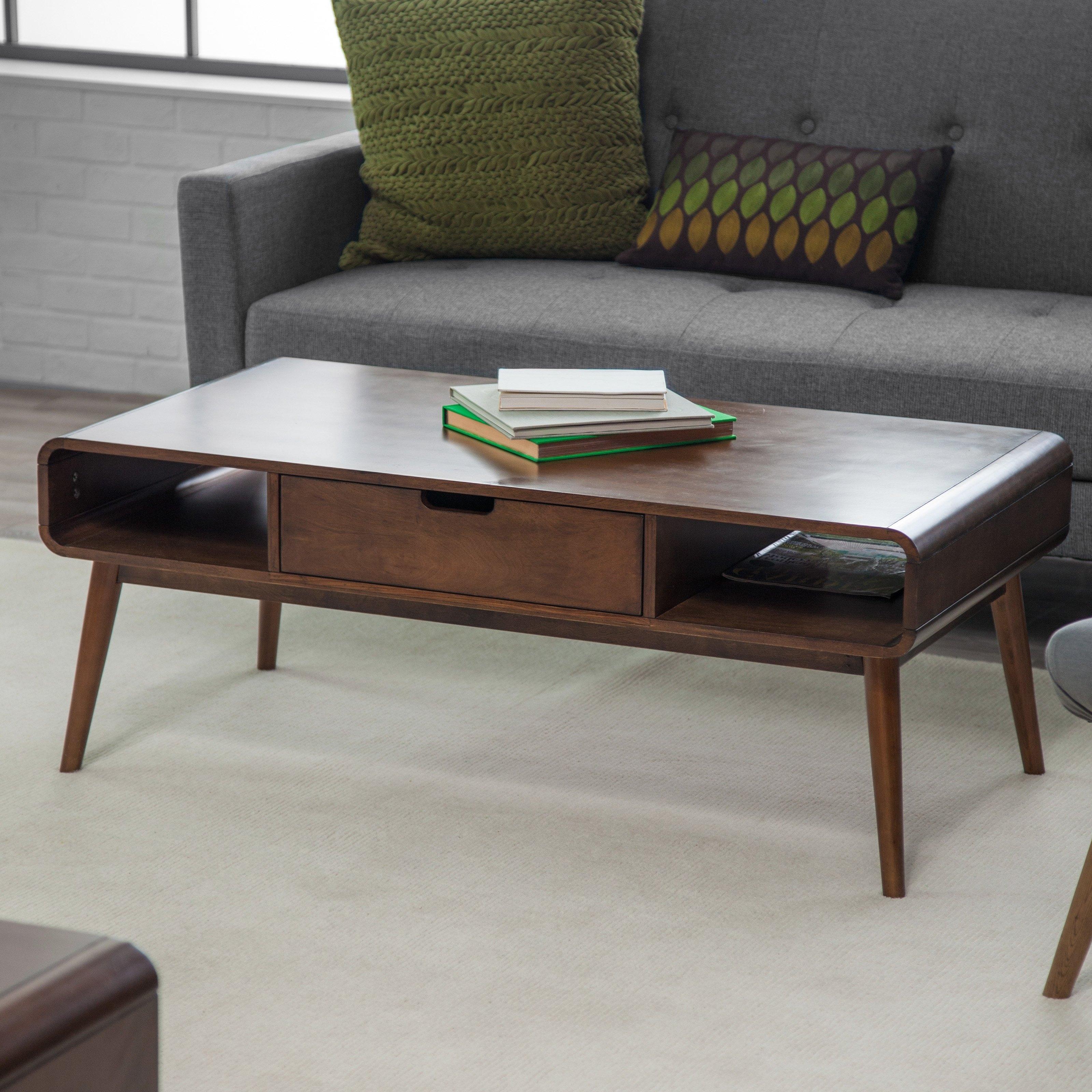 Belham Living Carter Mid Century Modern Coffee Table (View 3 of 20)