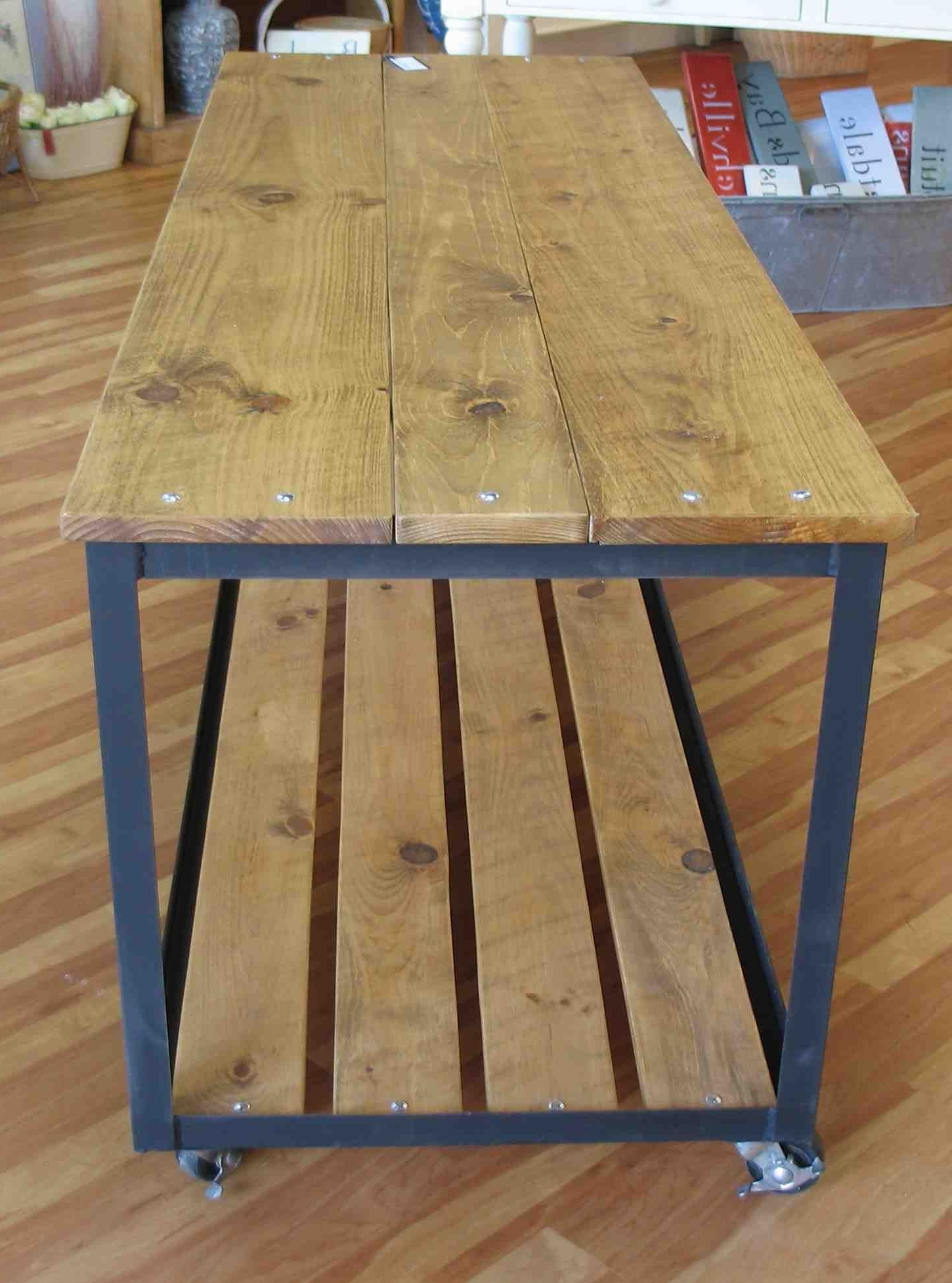 Best And Newest Aged Iron Cube Tables With Angle Iron Work Table (View 3 of 20)