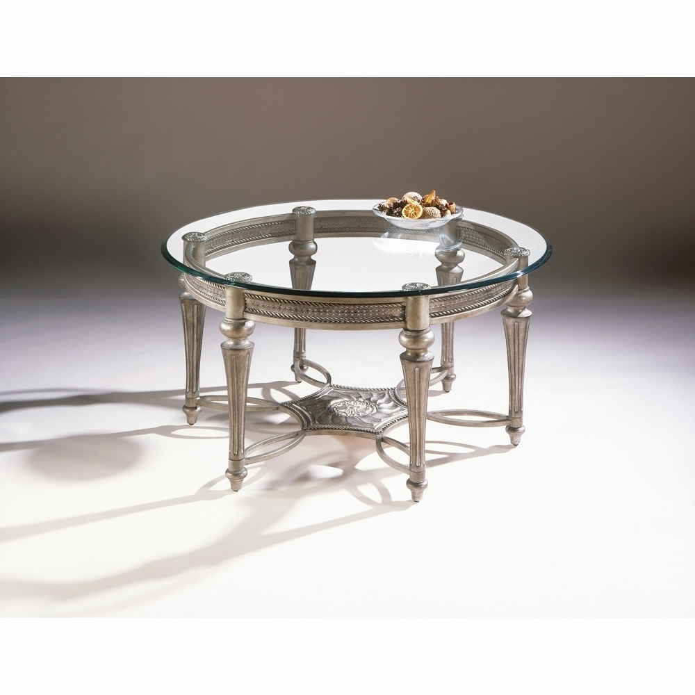 Best And Newest Alton Cocktail Tables Within Magnussen – Galloway Round Cocktail Table With Glass Top – 37506t B (View 14 of 20)