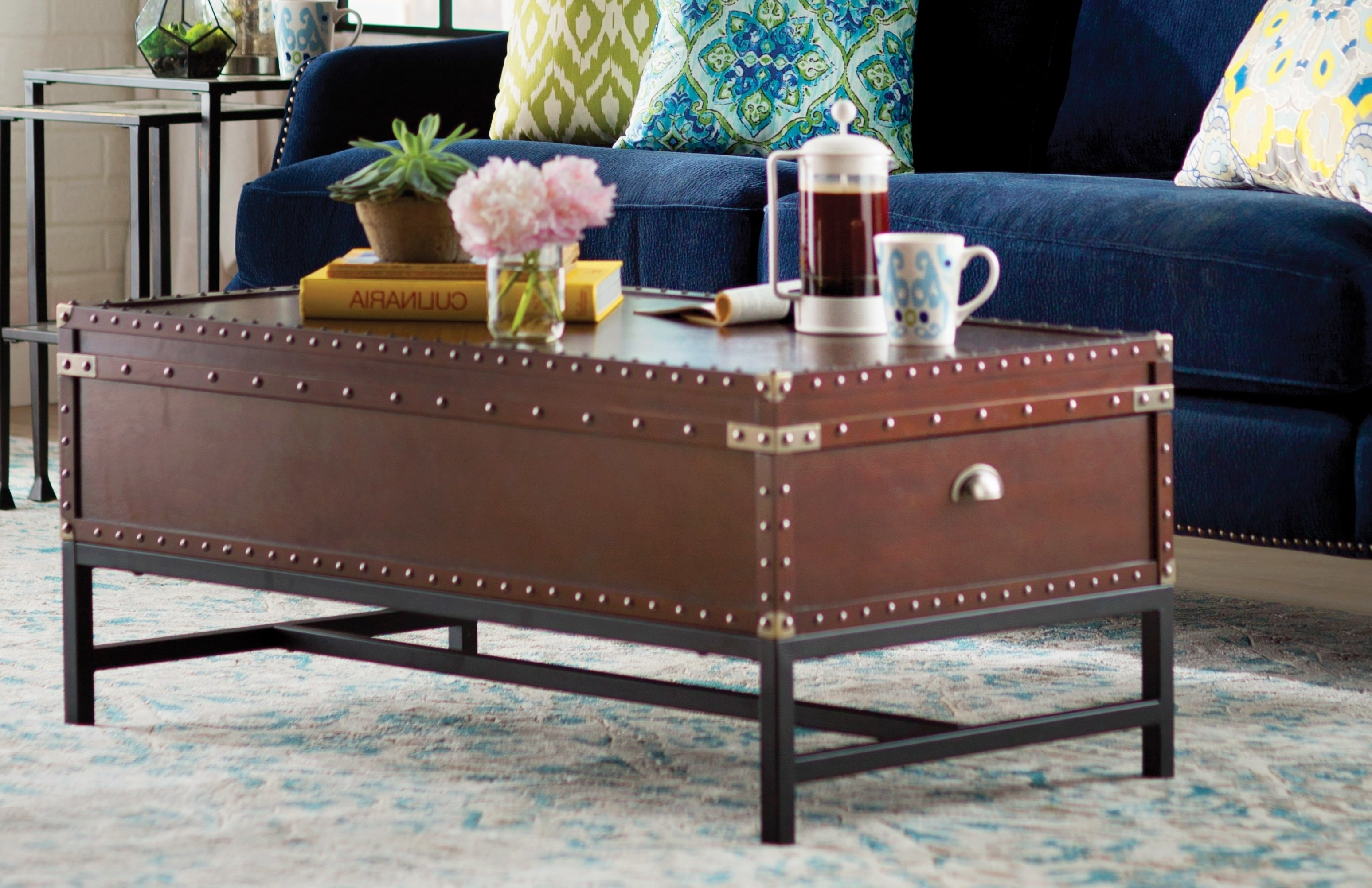 Best And Newest Grant Lift Top Cocktail Tables With Casters With Regard To Trent Austin Design Aztec Coffee Table With Lift Top & Reviews (View 9 of 20)
