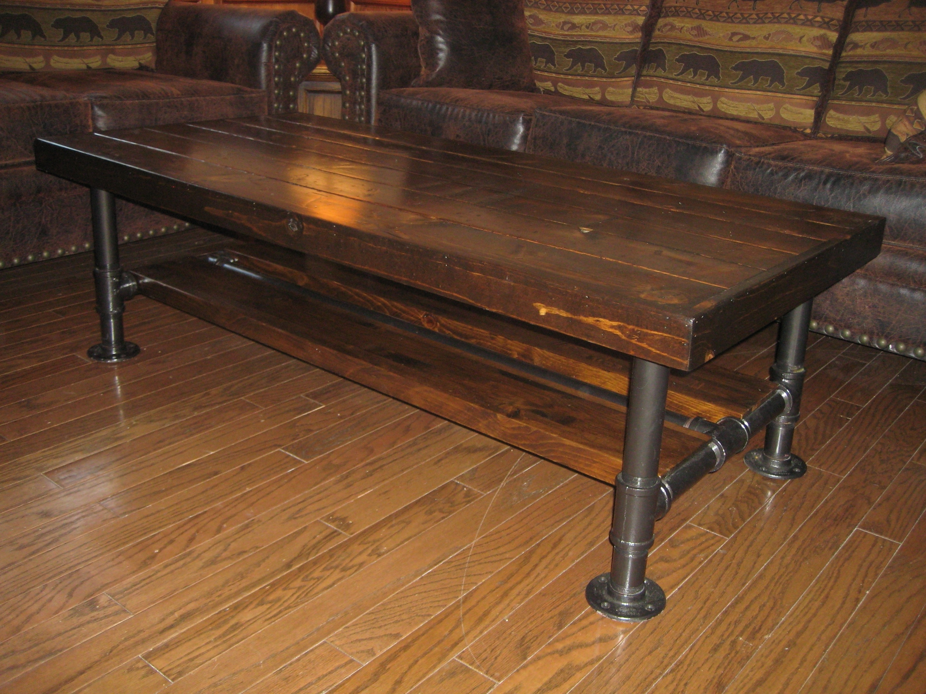 Best And Newest Natural Pine Coffee Tables Pertaining To Natural Wood Coffee Table Inspirational Distressed Rustic Knotty (View 12 of 20)