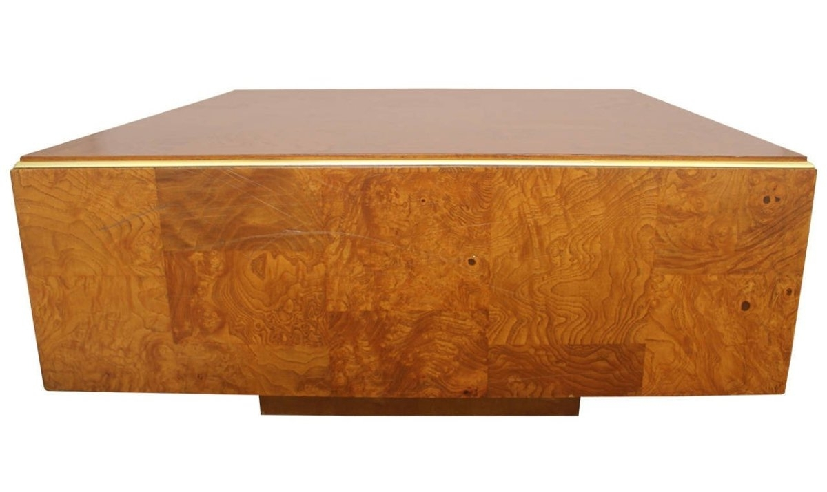 Best And Newest Oslo Burl Wood Veneer Coffee Tables With Burl Wood Veneer Coffee Table (View 16 of 20)
