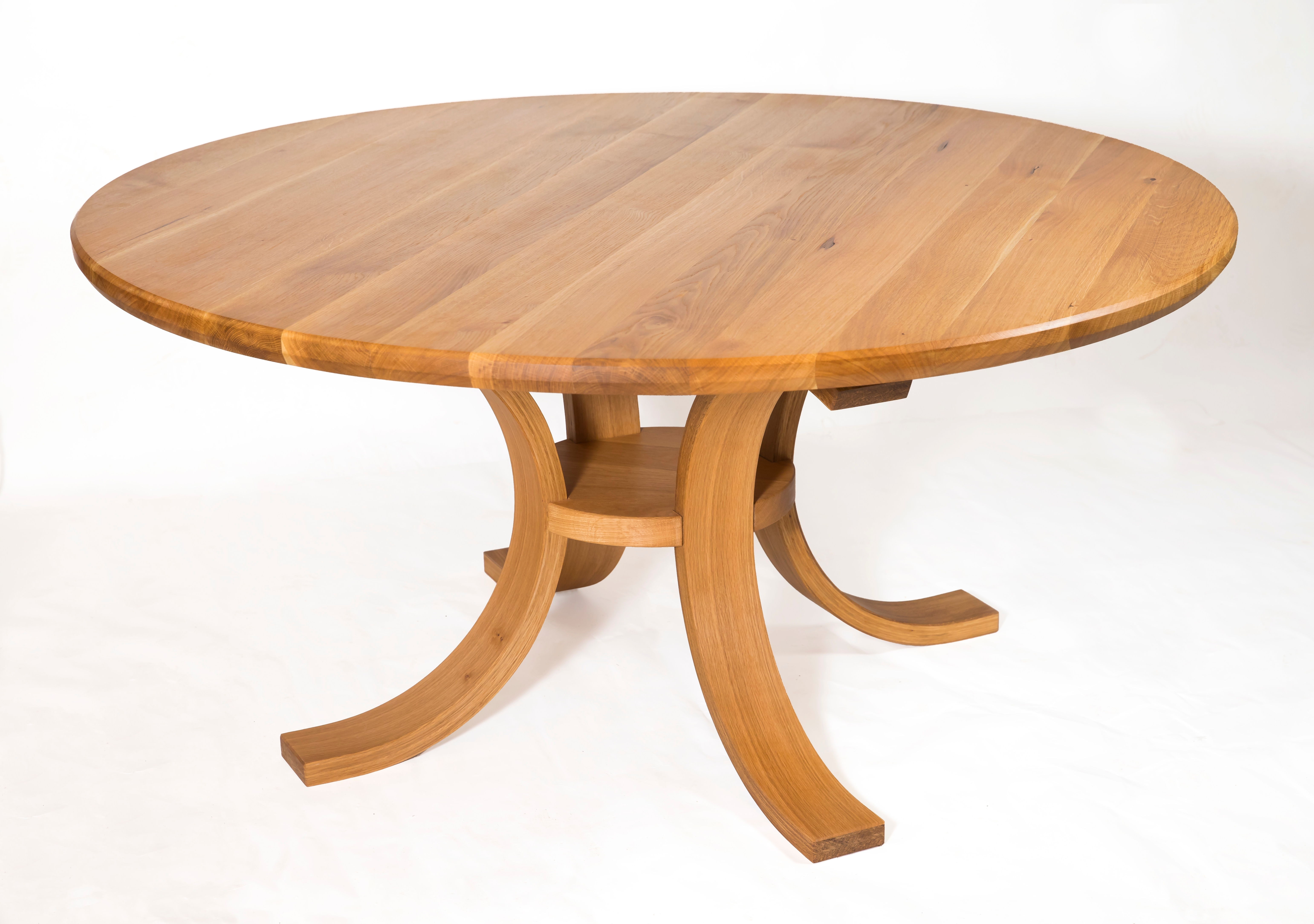 """Best And Newest Swell Round Coffee Tables Within Swell"""" Circular Dining Table – Shane Tubrid Furnituredesign (View 9 of 20)"""