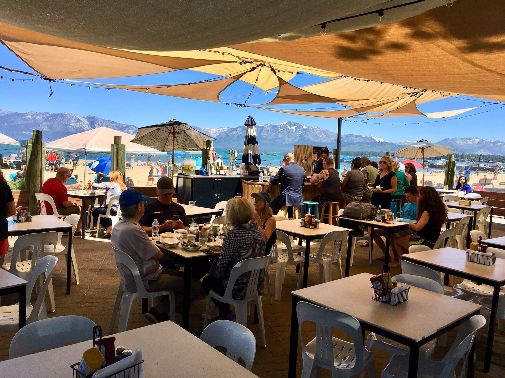 Best And Newest Tahoe Ii Cocktail Tables Regarding 5 Fab Lake Tahoe Restaurants For Lakeside Dining (View 4 of 20)