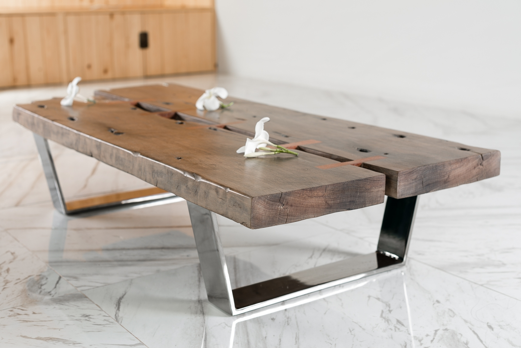 Best And Newest Vintage Wood Coffee Tables With Regard To Old Wood Coffee Table – Coffee Drinker (View 3 of 20)