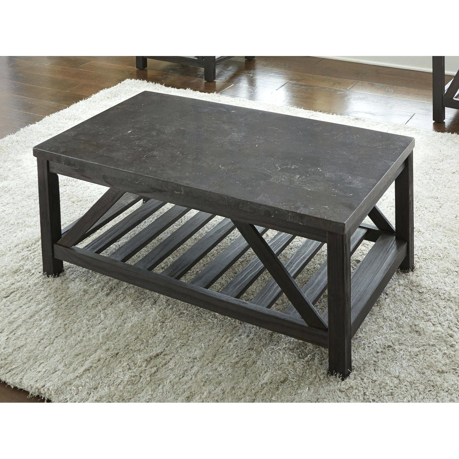 Bluestone Top Coffee Table Black Coffee Table Lift Up Top Intended For Most Recently Released Bluestone Rustic Black Coffee Tables (View 2 of 20)