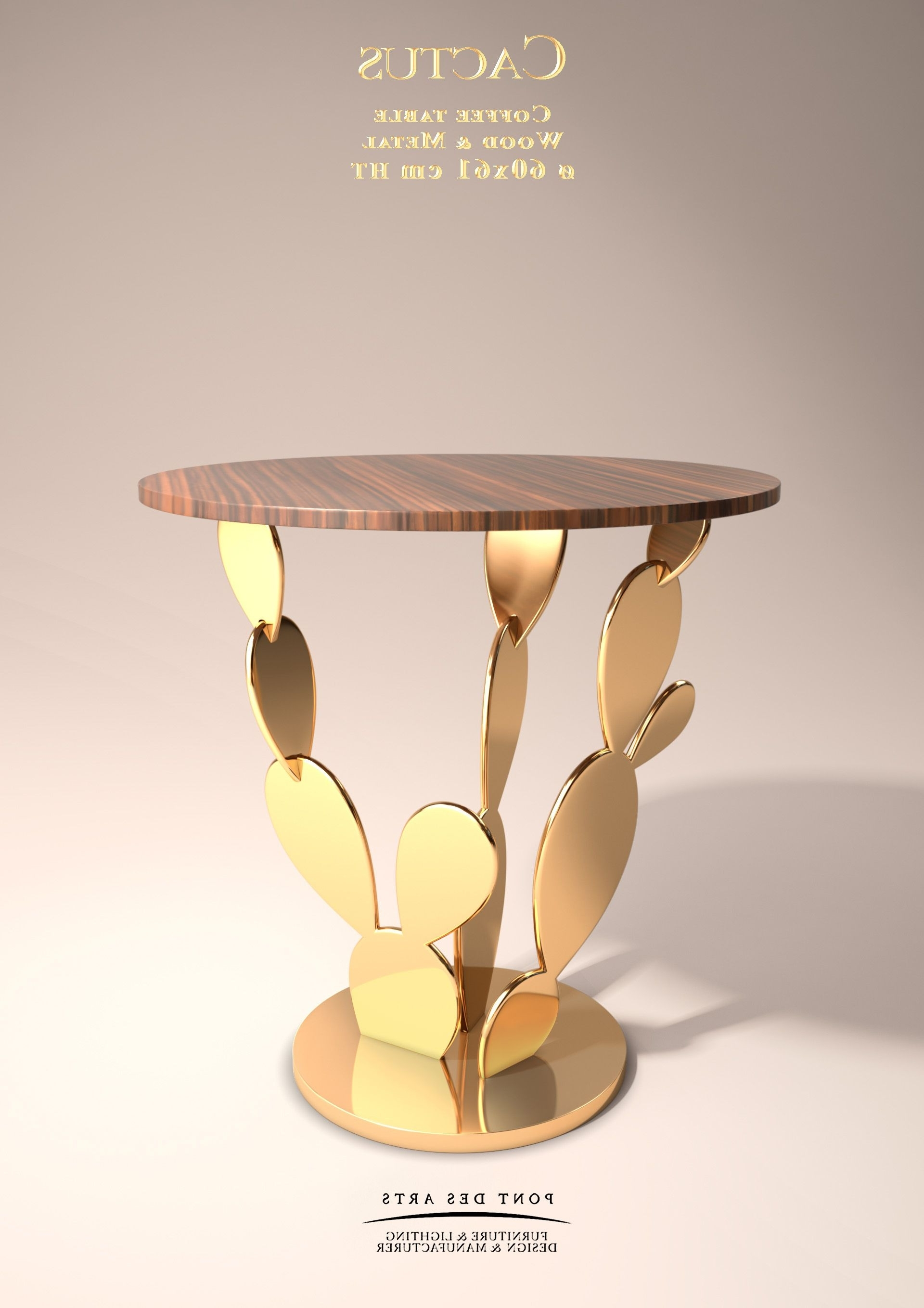 Featured Photo of Cacti Brass Coffee Tables