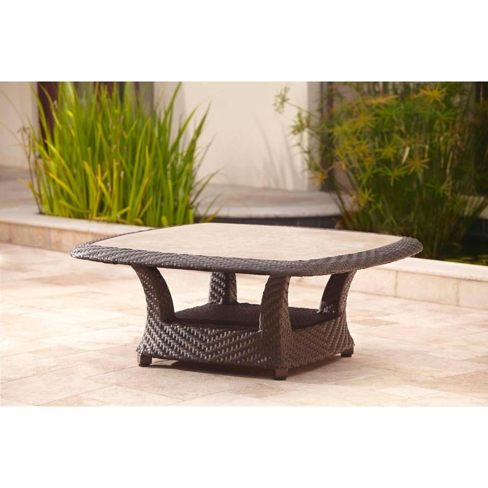 Brown Jordan – Outdoor Coffee Tables – Patio Tables – The Home Depot For Well Liked Jordan Cocktail Tables (View 8 of 20)