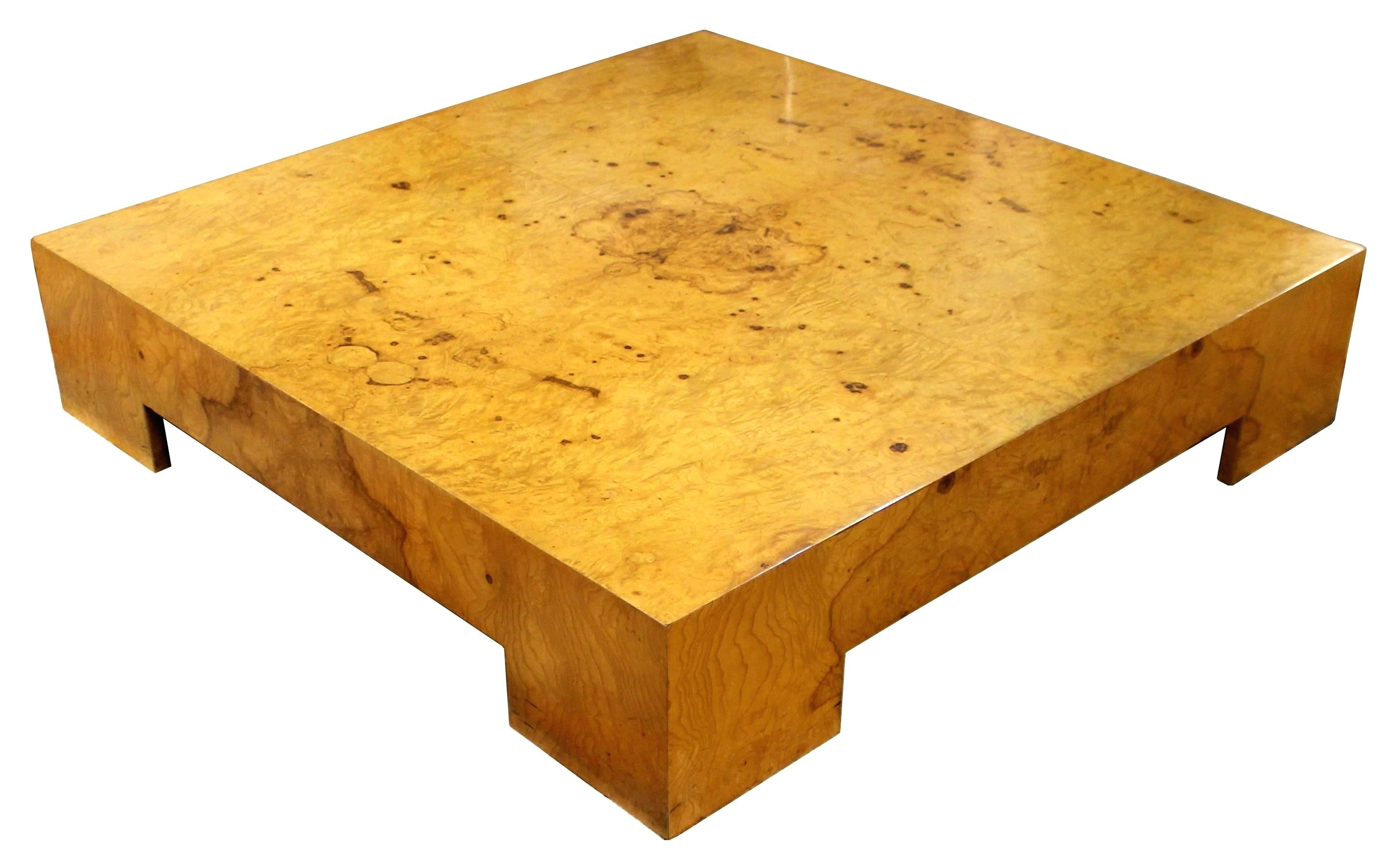 Burled Wood Coffee Table Wisteria Oslo Burl Wood Veneer Collection For Fashionable Oslo Burl Wood Veneer Coffee Tables (View 6 of 20)