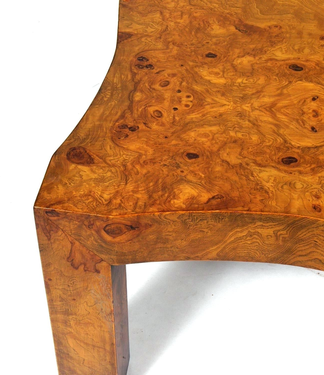 Burled Wood Coffee Table Wisteria Oslo Burl Wood Veneer Collection Intended For Widely Used Oslo Burl Wood Veneer Coffee Tables (View 8 of 20)