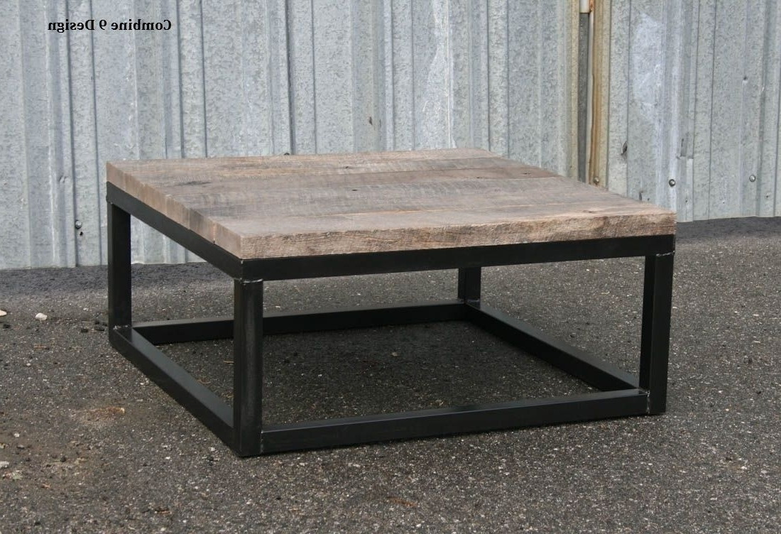 Buy A Hand Crafted Reclaimed Wood Coffee Table – Rustic Urban End For Well Known Vintage Wood Coffee Tables (View 4 of 20)