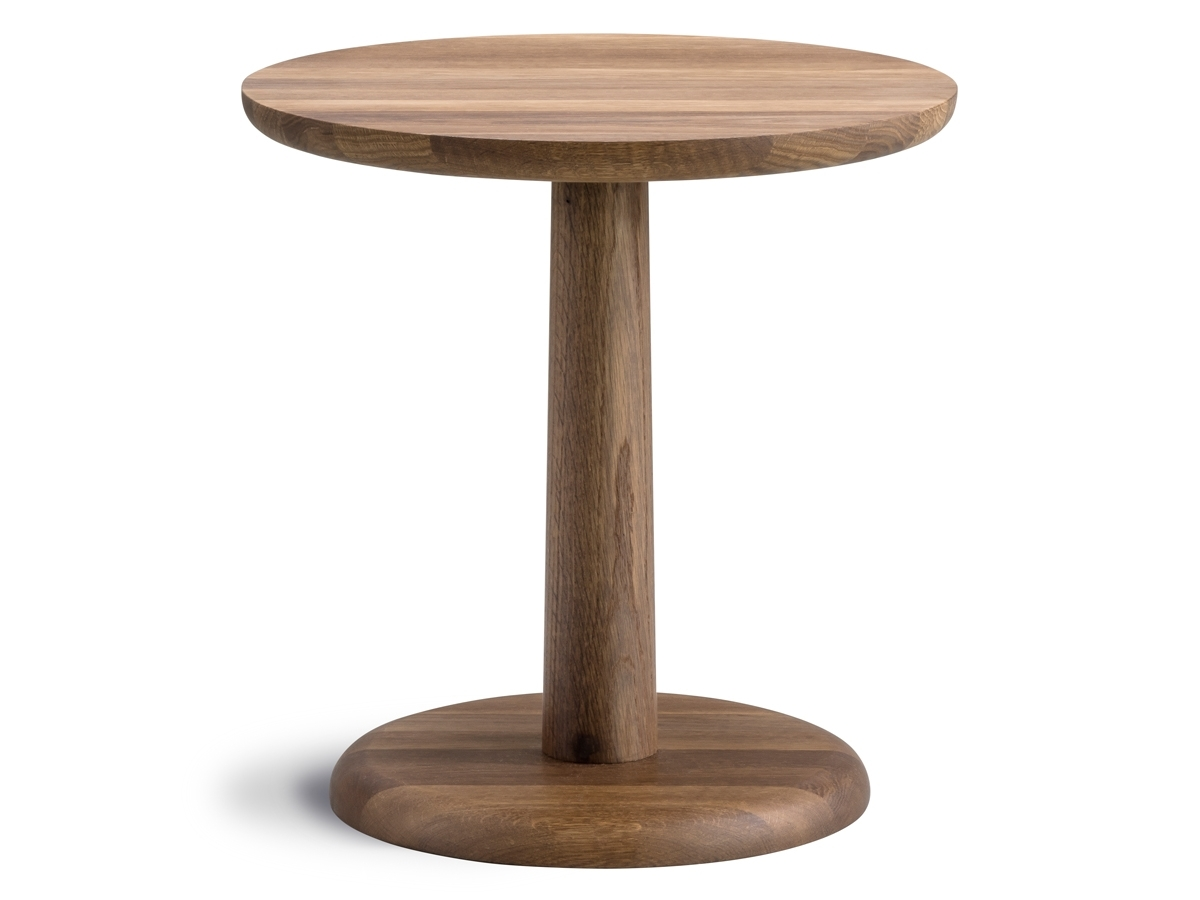 Buy The Fredericia Pon Side Table Smoked Oak At Nest.co (View 5 of 20)
