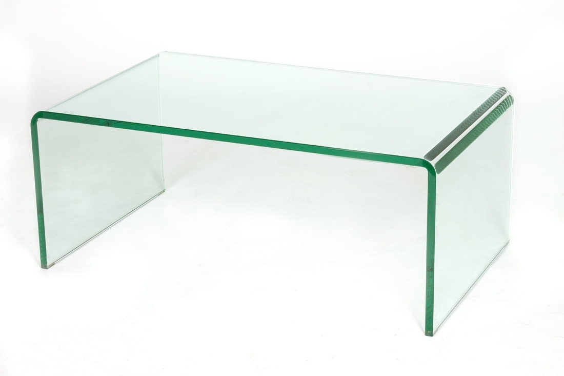 C2A Designs Waterfall Glass Coffee Table (View 2 of 20)