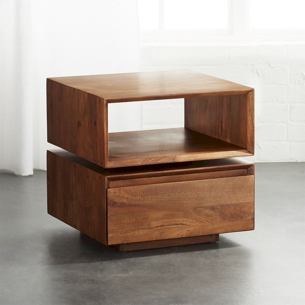 Cb2 – March Catalog 2018 – Spin Rotating Side Table (View 3 of 20)