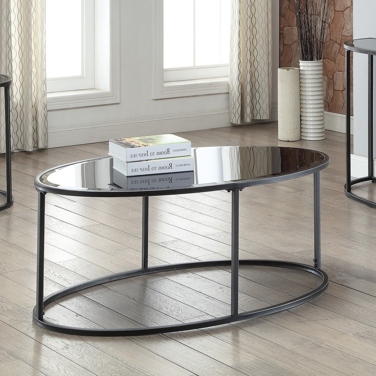 Coaster 704398 Coffee/cocktail Table – Gunmetal Frame 704398 At Pertaining To Widely Used Gunmetal Coffee Tables (View 4 of 20)