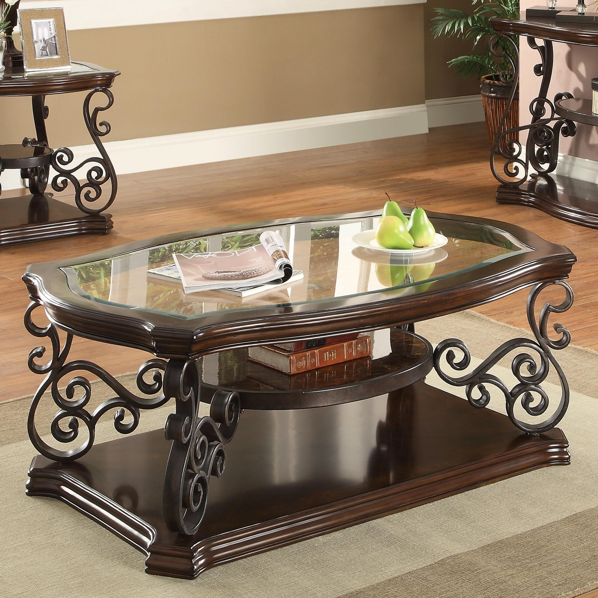 Coaster Occasional Group 702448 Traditional Coffee Table With For Most Popular Traditional Coffee Tables (View 2 of 20)
