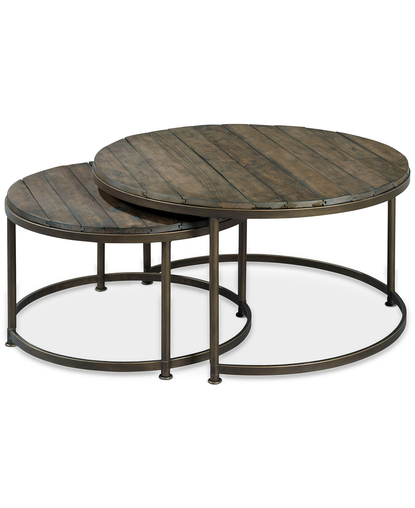 Coffee Table: Contemporary Nesting Coffee Table Round Round Coffee Intended For Famous Set Of Nesting Coffee Tables (View 17 of 20)