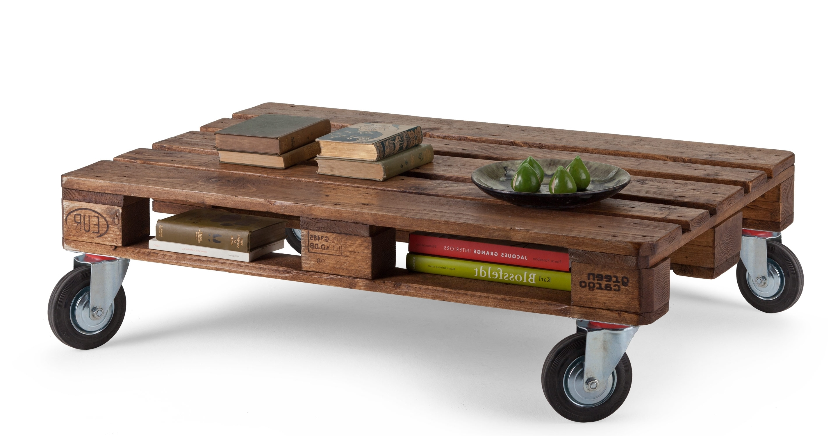 Coffee Table: Interesting Coffee Table On Wheels Coffee Table On For Favorite Natural Wheel Coffee Tables (View 3 of 20)