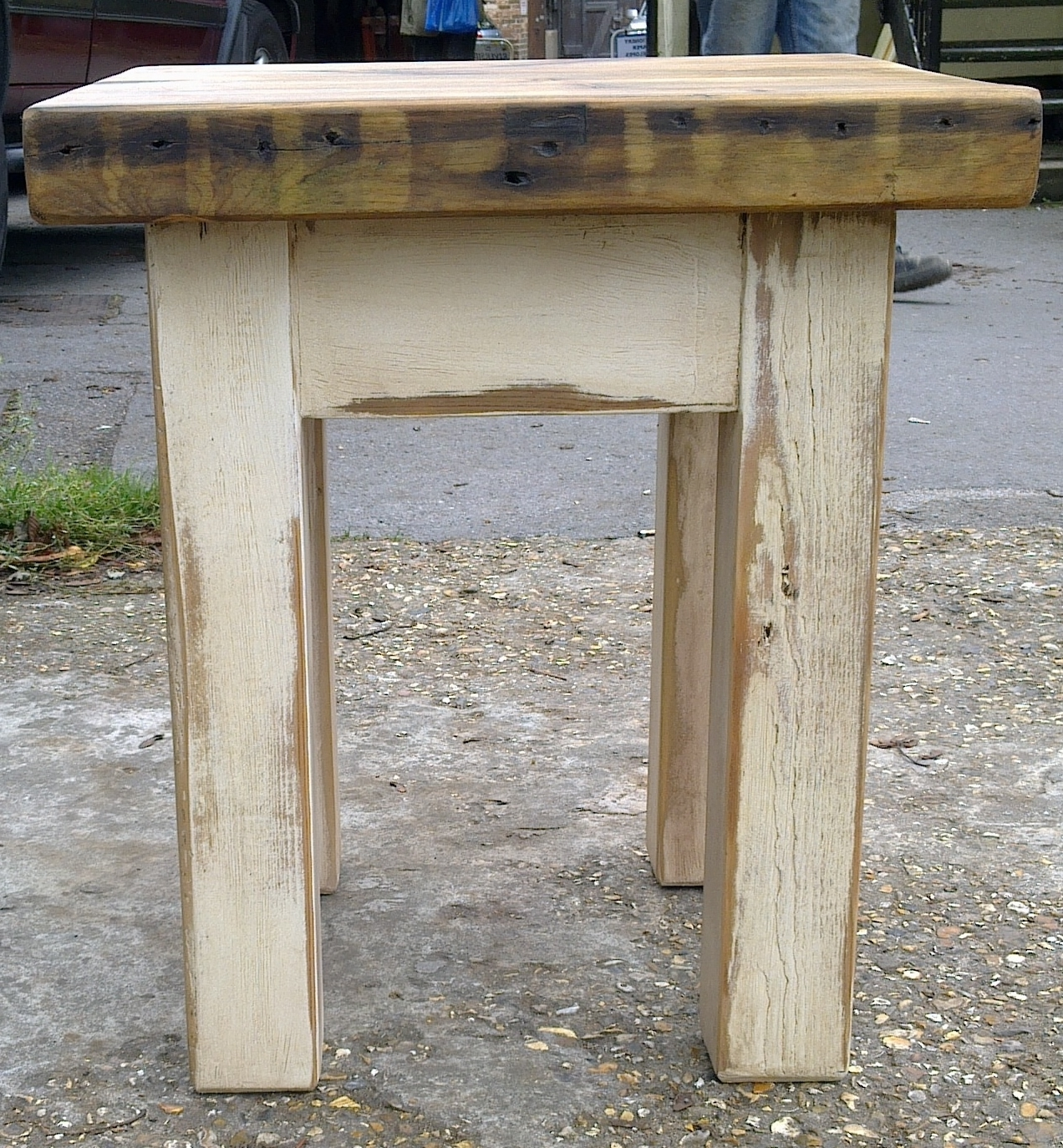Coffee Tables: Reclaimed Timber & Character Oak For Popular Waxed Metal Coffee Tables (View 17 of 20)