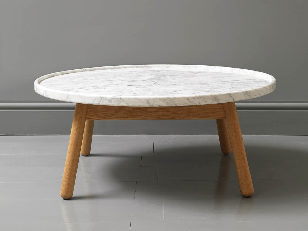 Collection In Oval Marble Coffee Table With Coffee Table Smart Round For Most Recently Released Smart Round Marble Brass Coffee Tables (View 2 of 20)