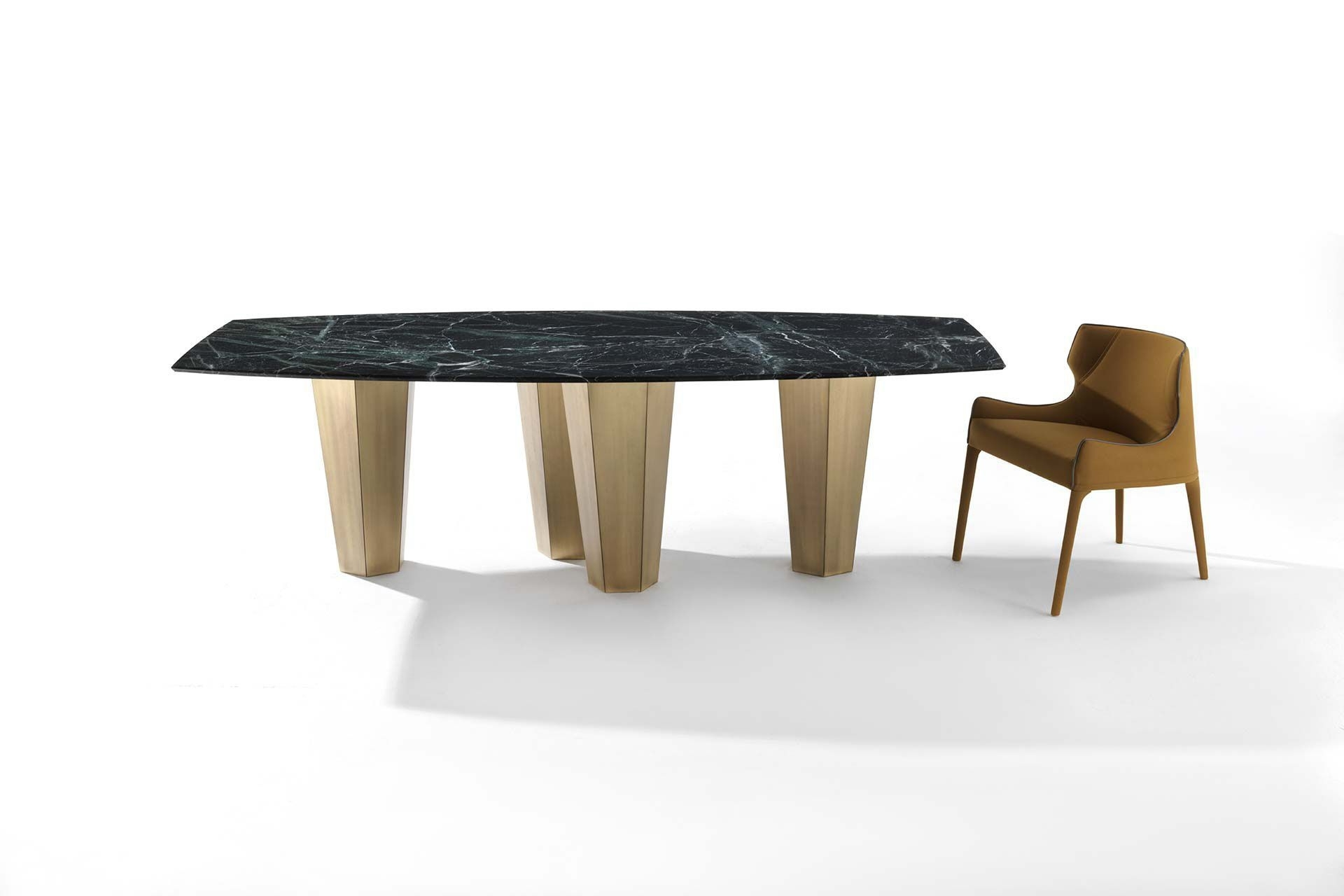 Contemporary Dining Table / Wooden / Marble / Contract – Parker Pertaining To Most Up To Date Parker Oval Marble Coffee Tables (View 10 of 20)