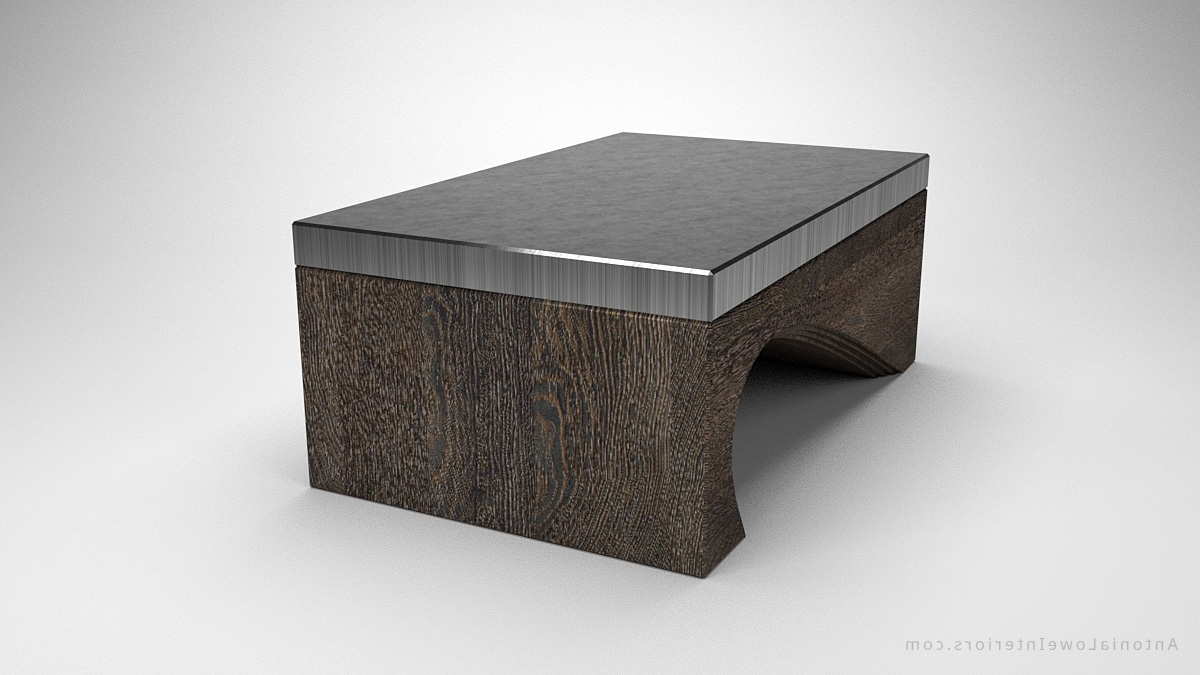 Contemporary Solid Curve Bottom Coffee Table – Interior Designer Pertaining To Well Known Contemporary Curves Coffee Tables (View 13 of 20)