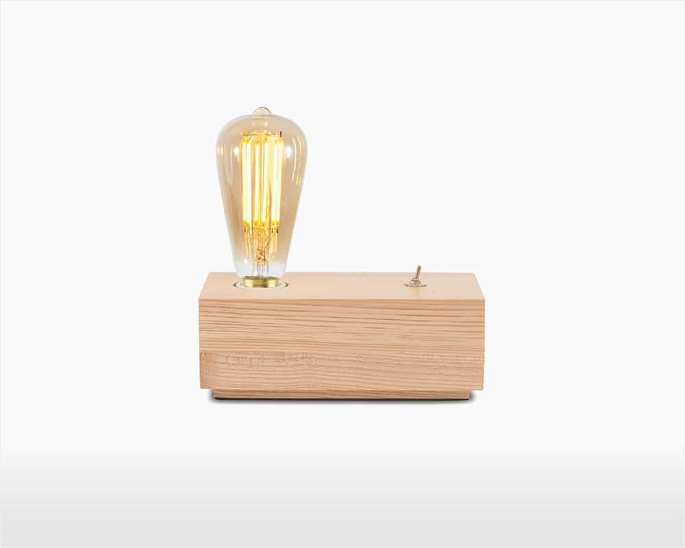 Cube Table Lamp – Ashwood – Kobe – It's About Romi Throughout Most Up To Date Brass Iron Cube Tables (View 12 of 20)