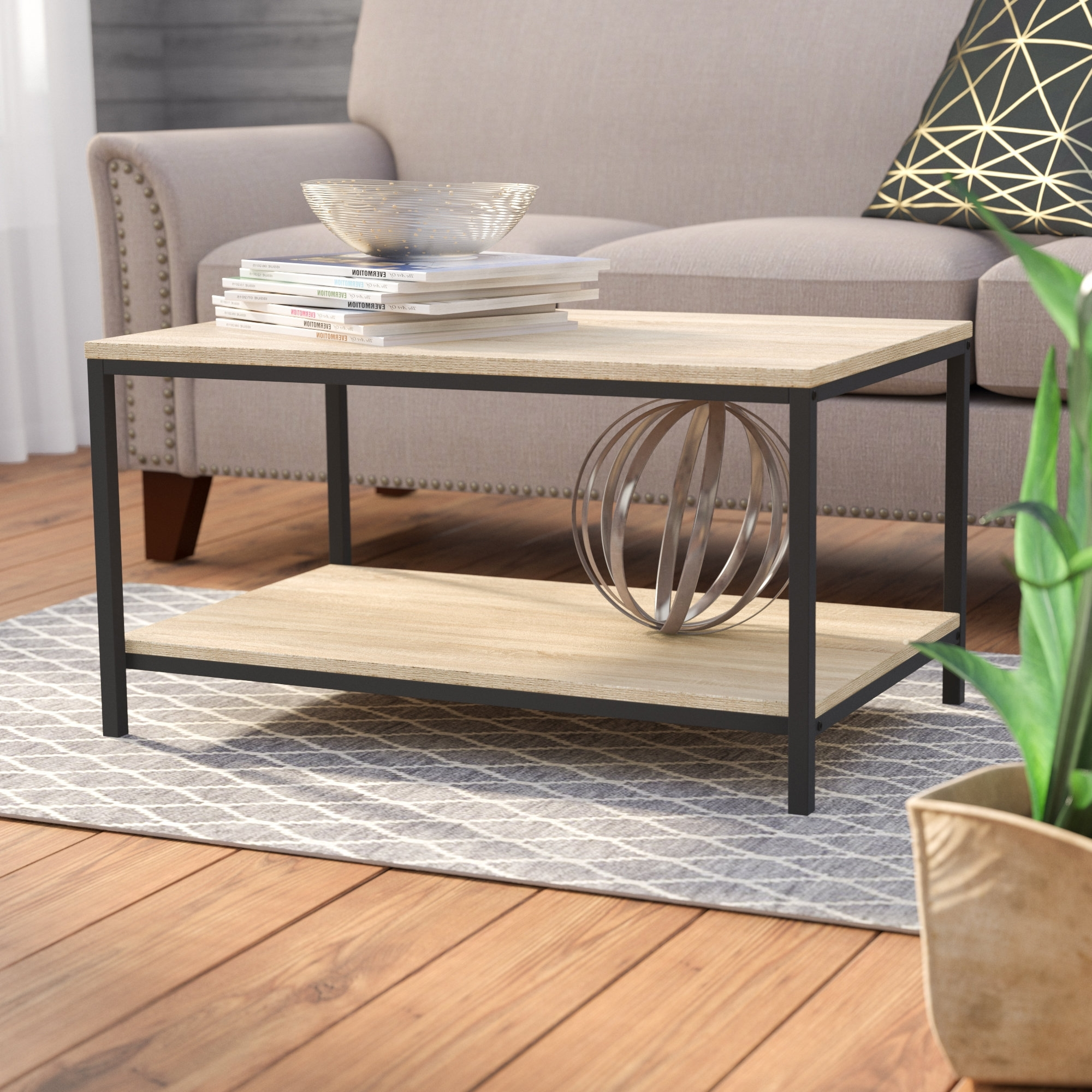 Current Large Scale Chinese Farmhouse Coffee Tables Throughout Laurel Foundry Modern Farmhouse Ermont Coffee Table & Reviews (View 7 of 20)