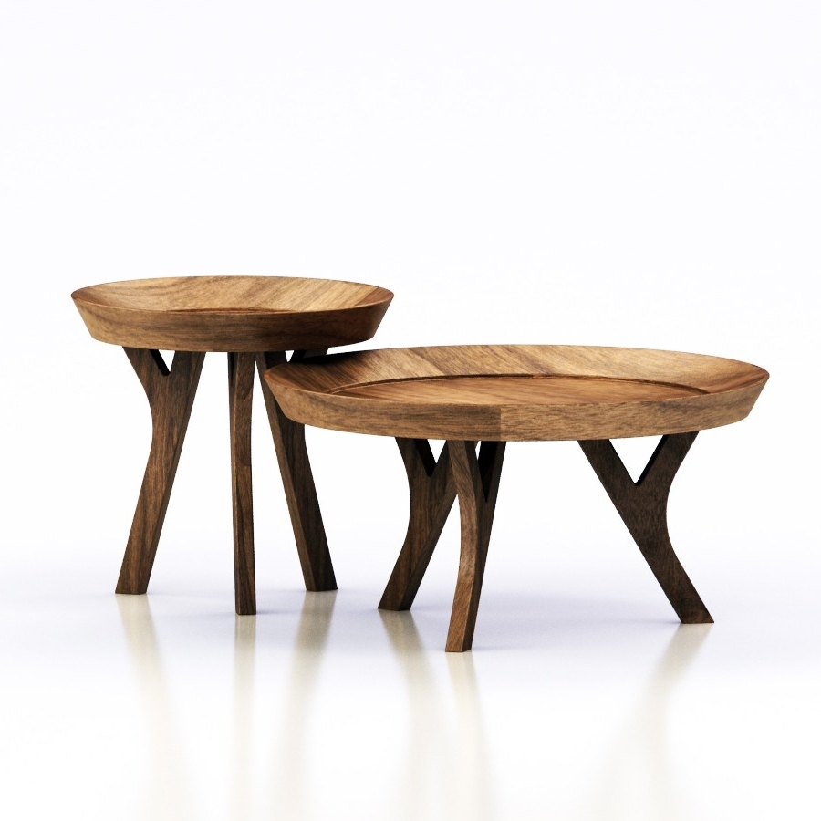 Current Moraga Barrel Coffee Tables For 3D Pottery Barn – Moraga Table 3D Model – High Quality 3D Models (View 7 of 20)